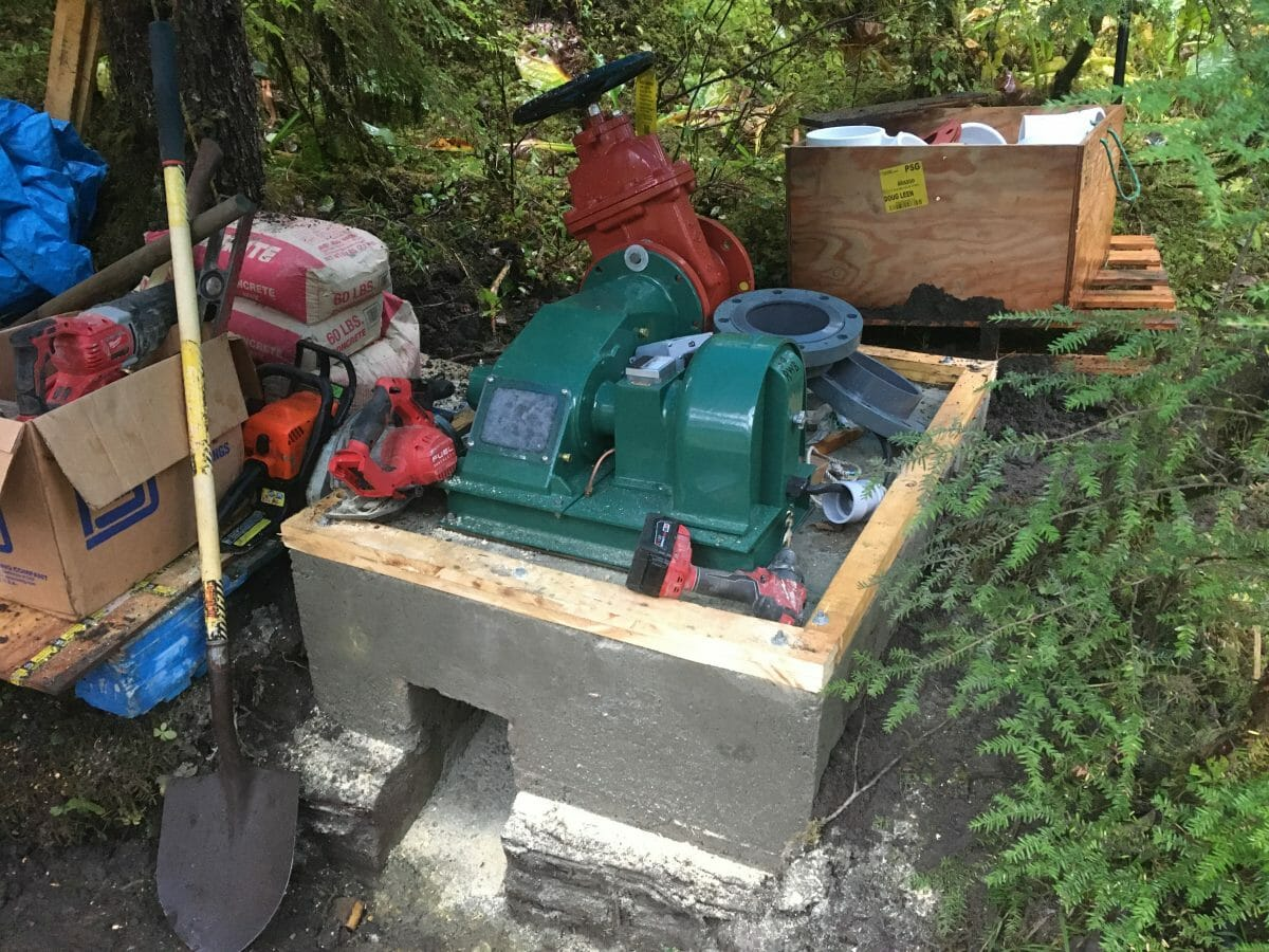 Micro-Hydro at last……an 11 year odyssey