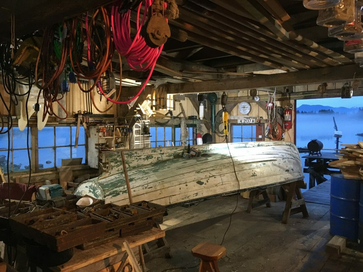 """""""Leif""""–a dentist's approach to boat restoration."""